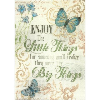 click here to view larger image of Little Things (counted cross stitch kit)