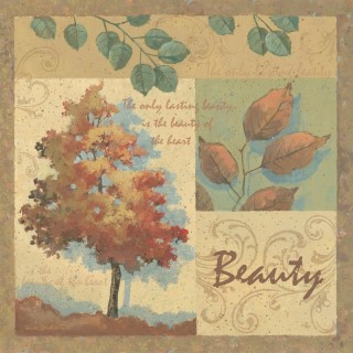 click here to view larger image of Beauty (counted cross stitch kit)