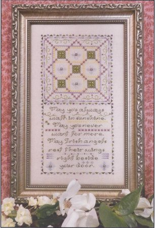 click here to view larger image of Irish Chain Quilt Sampler (chart)