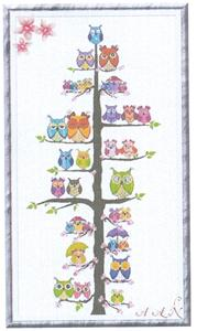 click here to view larger image of Owl Family Tree (chart)