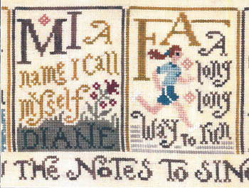 click here to view larger image of Sing A Sampler 2 (chart)