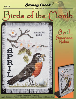 click here to view larger image of Birds of the Month - April (chart)