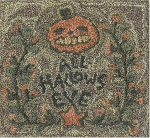 click here to view larger image of All Hallows Eve (Punchneedle)