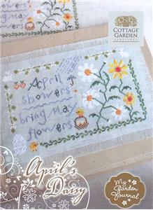 click here to view larger image of April Daisy - My Garden Journal (chart)