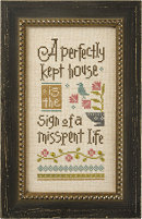 click here to view larger image of Perfectly Kept House (counted cross stitch kit)
