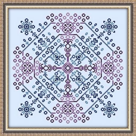 click here to view larger image of Starburst Mandala (chart)