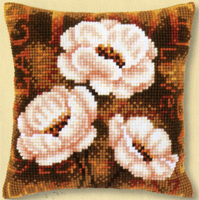 click here to view larger image of Modern Anemones (counted cross stitch kit)