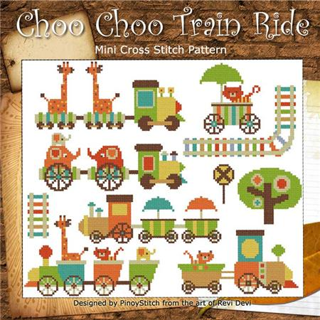 click here to view larger image of Choo Choo Train Ride (chart)