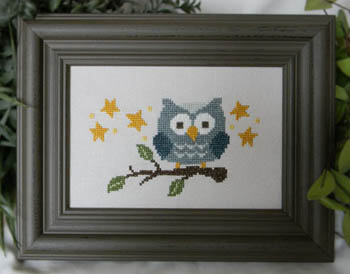 click here to view larger image of Blue Owl on Branch (chart)