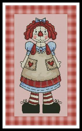 click here to view larger image of Country Annie  (Whimsy Primsy) (chart)