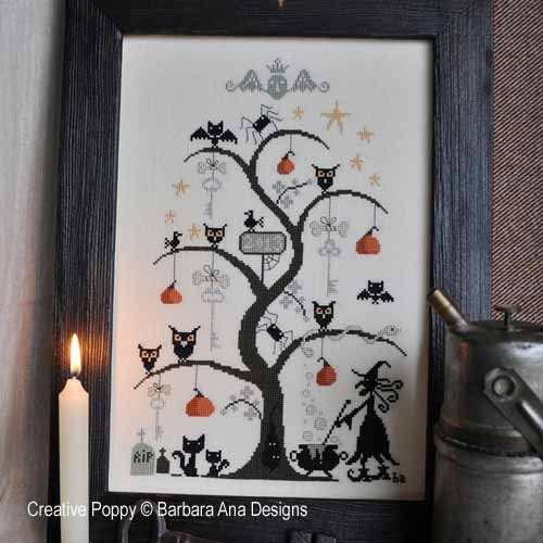 click here to view larger image of O Halloween Tree (chart)