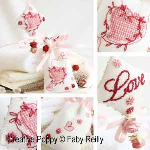 click here to view larger image of Sweet Heart Sachet and Fob (chart)