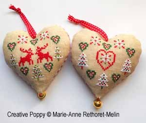click here to view larger image of Christmas Hearts (chart)