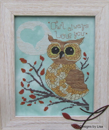 click here to view larger image of Owl Always Love You (chart)