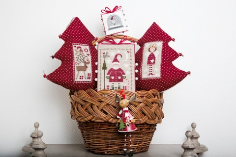click here to view larger image of Ma Petite Deco De Noel (My small Christmas deco) (chart)