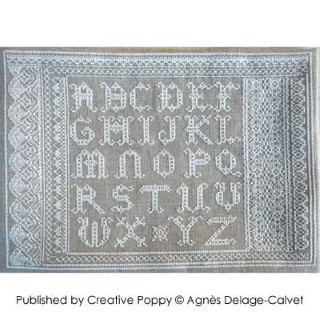 click here to view larger image of Lace Alphabet Sampler - Sampler ABC (chart)