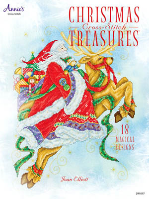 click here to view larger image of Christmas Cross-Stitch Treasures (book)