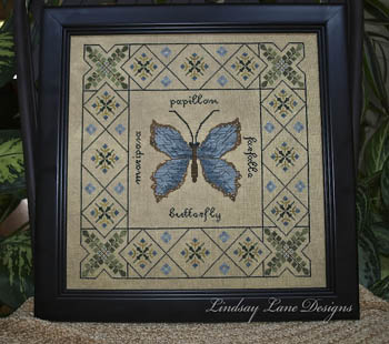 click here to view larger image of Butterfly Garden Sampler (chart)
