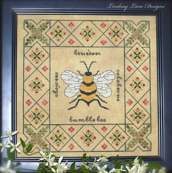 click here to view larger image of Bumble Bee Garden Sampler (chart)