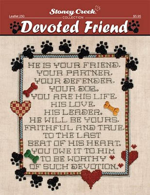 click here to view larger image of Devoted Friend (chart)