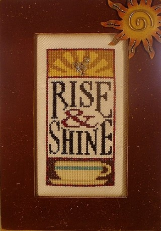 click here to view larger image of Charmed Rise & Shine (vertical) (chart with charms/buttons)