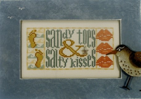 click here to view larger image of Charmed Sandy Toes & Salty Kisses (chart with charms/buttons)