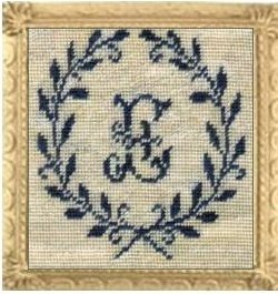click here to view larger image of French Letters - Sajou 110 (The Sampler Needlework) (chart)