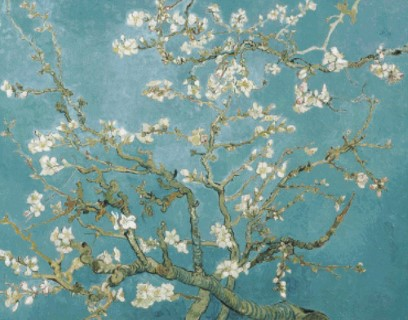 click here to view larger image of Almond Blossom- Vincent Van Gogh (chart)