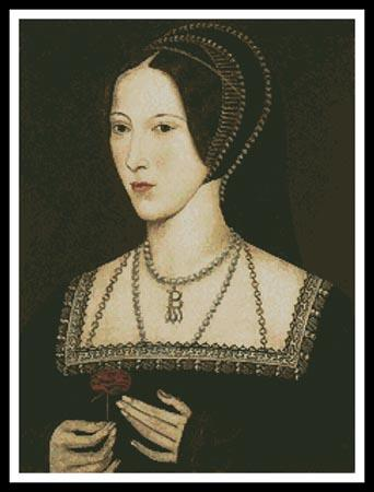 click here to view larger image of Anne Boleyn (chart)