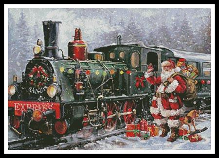 click here to view larger image of Christmas Express (chart)