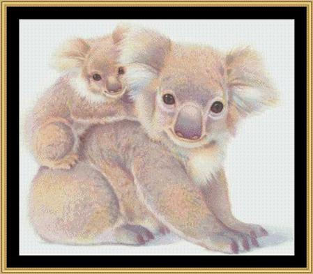 click here to view larger image of Koala Bear - A Mother's Love Collection (chart)