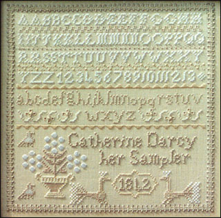 click here to view larger image of Catherine Darcy Sampler (chart)