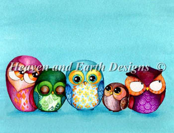click here to view larger image of Owl Family (chart)