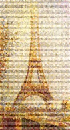 click here to view larger image of Eiffel Tower (chart)