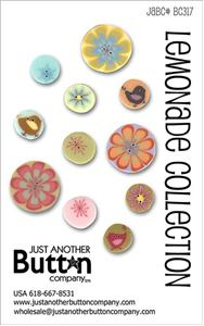 click here to view larger image of Lemonade Collection  - Button Card (buttons)