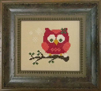 click here to view larger image of Red Holiday Owl (chart)