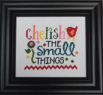 click here to view larger image of Cherish The Small Things (chart)