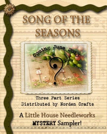 Song of the Seasons Mystery Sampler - click here for more details about chart