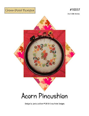 click here to view larger image of Acorn Pincushion (chart)