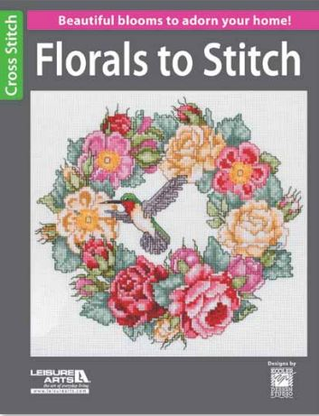 click here to view larger image of Florals to Stitch (book)