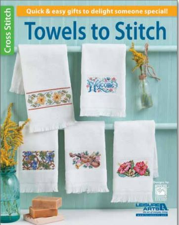 click here to view larger image of Towels to Stitch (book)