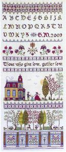 click here to view larger image of House In The Wood Sampler (chart)
