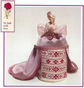 click here to view larger image of Julie - A Lady In Kent Pincushion Doll (chart)