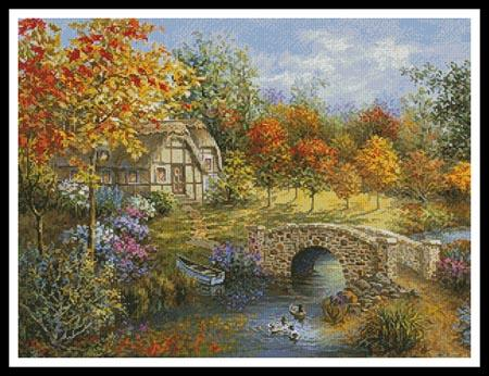 click here to view larger image of Autumn Beauty  (Nicky Boehme) (chart)