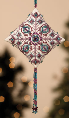 click here to view larger image of Royal Plum (2013) (counted cross stitch kit)