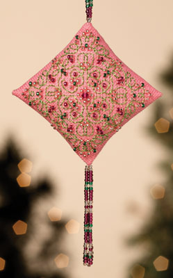 click here to view larger image of Pink Champagne (2013) (counted cross stitch kit)
