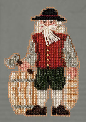 click here to view larger image of Plymouth Santa (2013) (counted cross stitch kit)