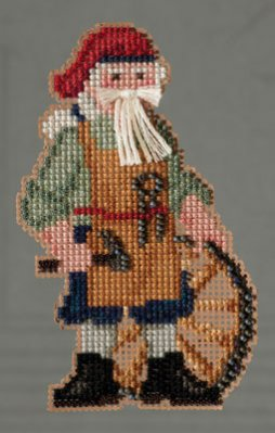 click here to view larger image of Jamestown Santa (2013) (counted cross stitch kit)