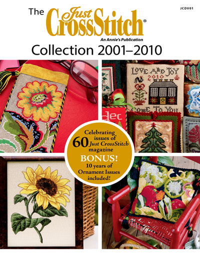 click here to view larger image of Just Cross Stitch Collection 2001-2010 (DVD) (magazines)