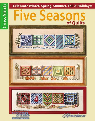 click here to view larger image of Five Seasons of Quilts (book)